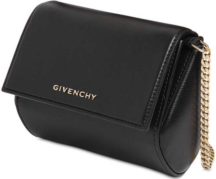 Replica Givenchy Pandora Leather Chain Clutch Bag - DiggDeluxe a46869afd4d7d