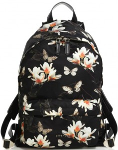 Givenchy-Floral-Butterfly-Nylon-Backpack