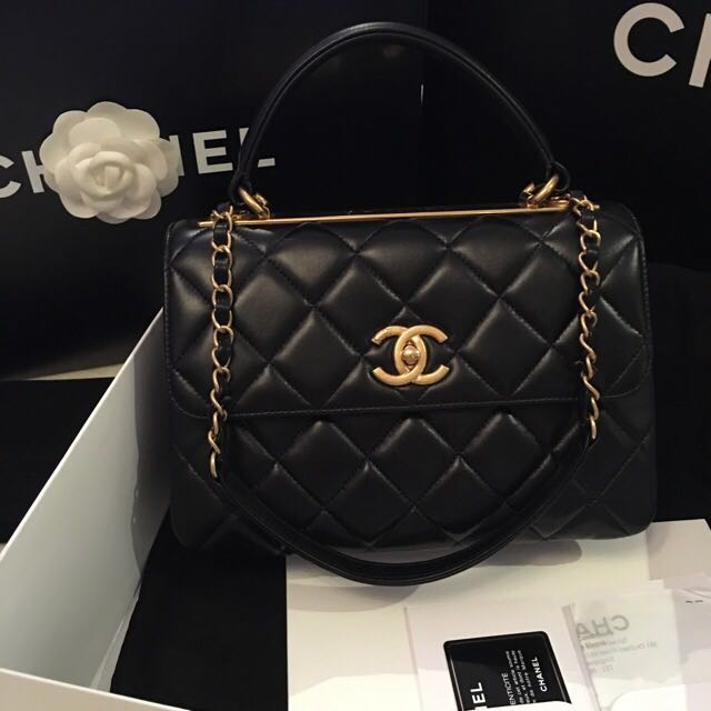 Shopping With The Elegant Chanel Trendy Cc Woc Diggdeluxe