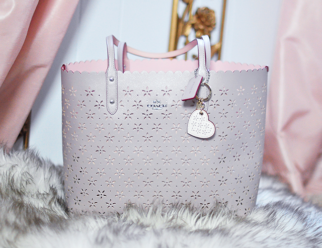 Take The Pretty Cut Out Coach Tote Bag Outside Diggdeluxe